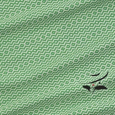 Lady Moda Peştemal Diamond Green Yüzde Yüz Pamuklu 100x180 cm Renkli